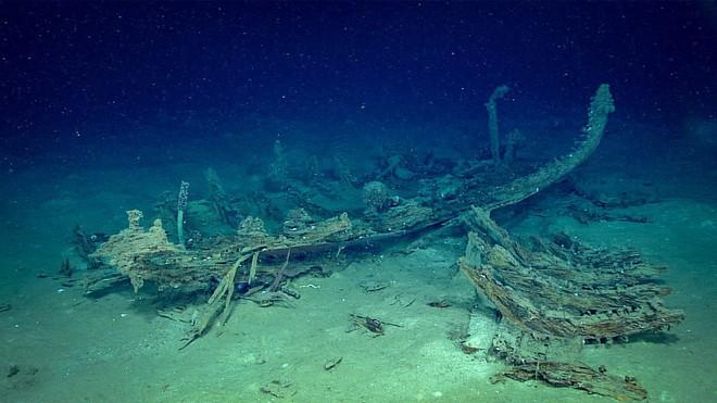 """Phát hiện """"nghĩa địa của những con tàu chìm ở vùng biển sâu nhất vịnh Mexico - Ảnh 7."""