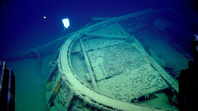 """Phát hiện """"nghĩa địa của những con tàu chìm ở vùng biển sâu nhất vịnh Mexico - Ảnh 6."""
