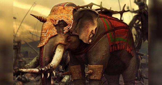 Những con voi trong chiến tranh: Cỗ xe tăng đáng sợ của giới quân sự cổ đại - Ảnh 1.