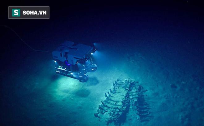 """Phát hiện """"nghĩa địa của những con tàu"""" chìm ở vùng biển sâu nhất vịnh Mexico"""
