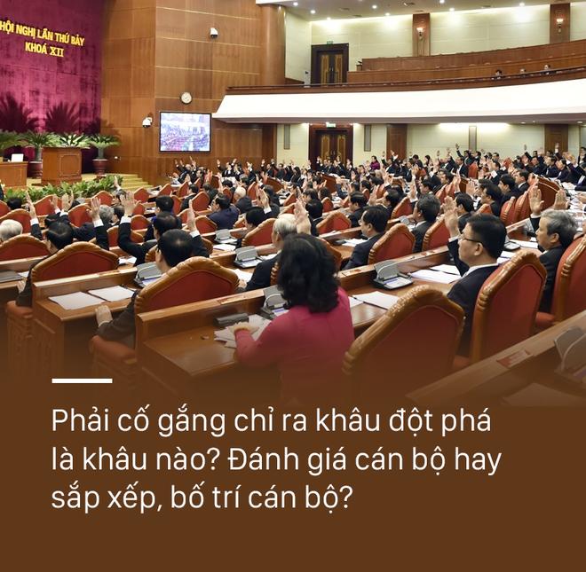 Tổng Bí thư Nguyễn Phú Trọng: Vì sao quy trình thì đúng nhưng bố trí con người cụ thể lại sai?  - Ảnh 1.