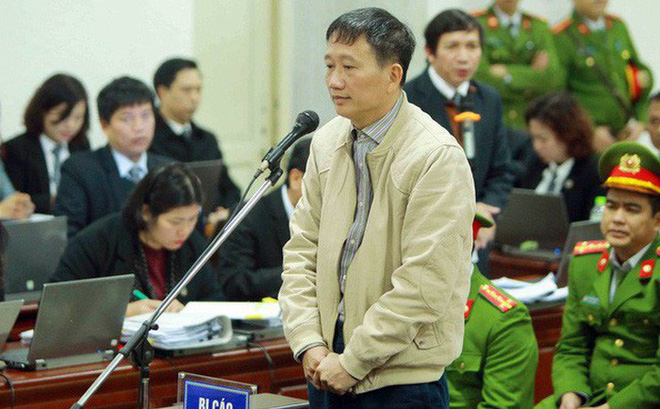 Trịnh Xuân Thanh bất ngờ rút đơn kháng cáo, không có mặt ở tòa phúc thẩm sáng nay