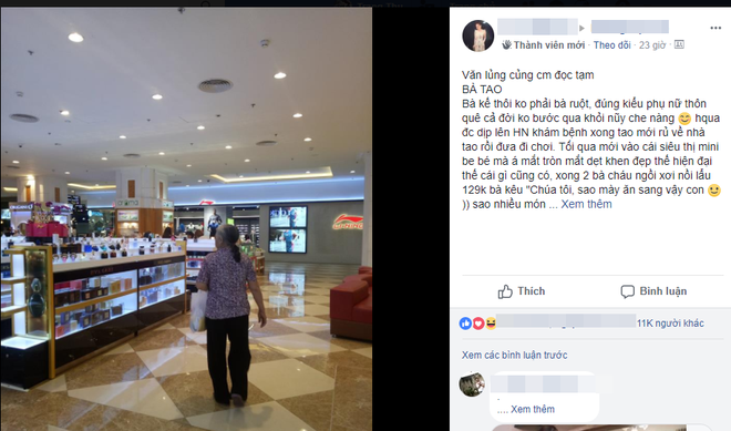 Cháu gái kể chuyện người bà muốn dùng 200 triệu đồng mua cả trung tâm thương mại ở Hà Nội - Ảnh 1.