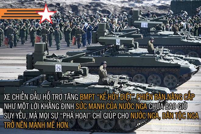 [PHOTO STORY]: Những khí tài tối tân của Nga lần đầu tiên xuất hiện trong Ngày Chiến thắng - Ảnh 7.