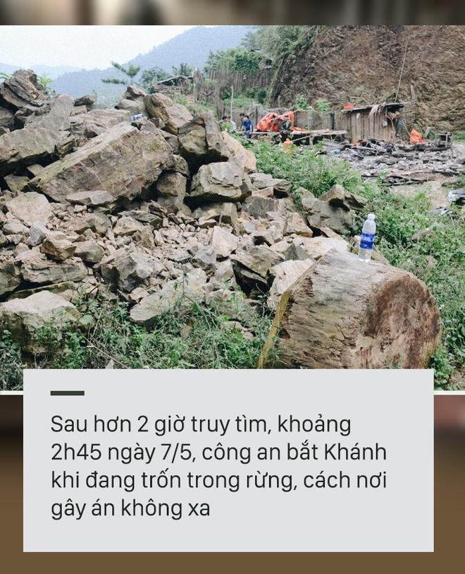 [PHOTO STORY] 2 giờ trốn chạy của nghi phạm giết 4 người ở Cao Bằng - Ảnh 8.