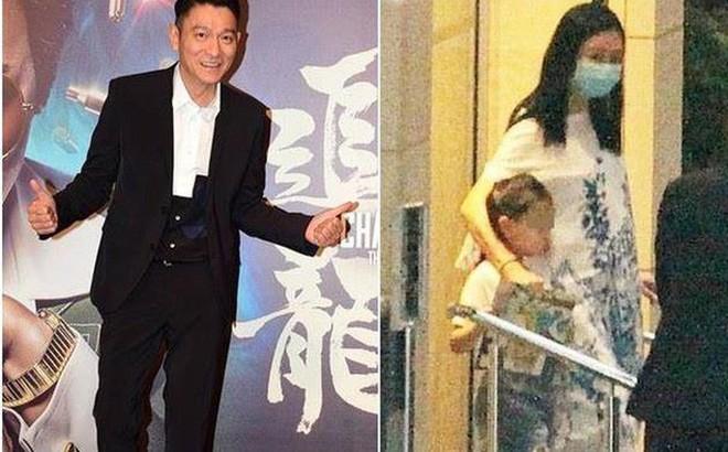 Rò rỉ hình ảnh vợ Lưu Đức Hoa xuất hiện với vòng 2 to bất thường, nghi vấn mang thai ở tuổi 52