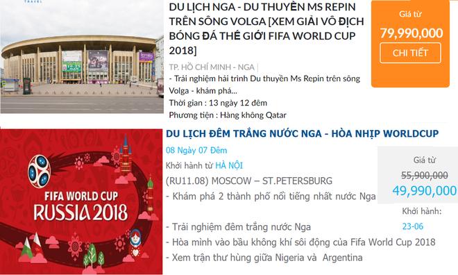 Đại gia Việt chi hơn 120 triệu đồng mua tour xem World Cup 2018 - Ảnh 2.