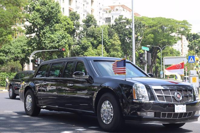TT Trump và ông Lý Hiển Long họp song phương, phái đoàn Mỹ-Triều kết thúc đàm phán giờ chót - Ảnh 1.