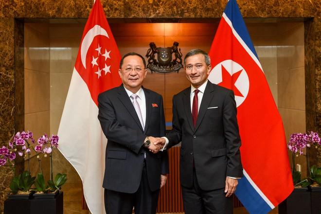 Phái đoàn Mỹ-Triều bàn bạc phút chót, ông Kim mời ông Trump tới Bình Nhưỡng họp vòng 2 - Ảnh 1.