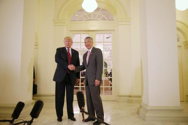 Tổng thống Trump khen Singapore chuyên nghiệp, nhận định tích cực về thượng đỉnh Mỹ-Triều - Ảnh 1.