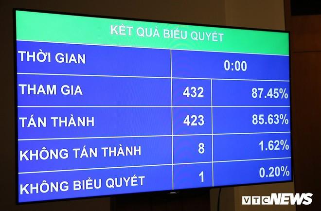 Tướng Nguyễn Mai Bộ: Không bao giờ đại biểu Quốc hội ấn nút cho việc mất nước - Ảnh 1.