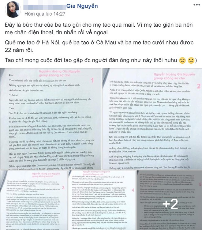 Ba viết mail xin lỗi mẹ, dân mạng hỏi con gái làm sao để đầu thai vào nhà có phước thế này - Ảnh 1.