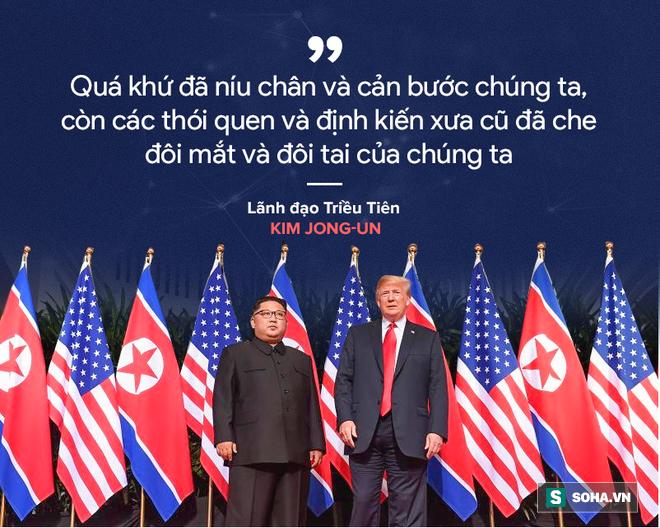 Cơn mưa lời ca ngợi nguyên thủ Mỹ - Triều dành cho nhau - Ảnh 3.