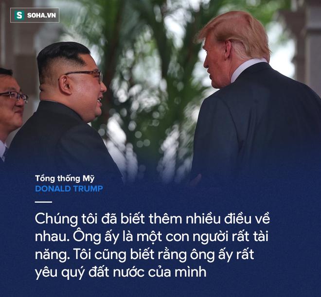 Cơn mưa lời ca ngợi nguyên thủ Mỹ - Triều dành cho nhau - Ảnh 9.