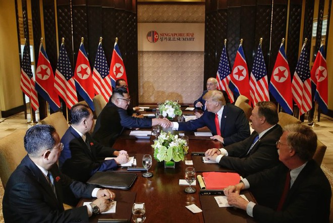 Ông Kim Jong-un: Nhiều người sẽ nghĩ đây là chuyện chỉ có trong phim khoa học viễn tưởng - Ảnh 1.