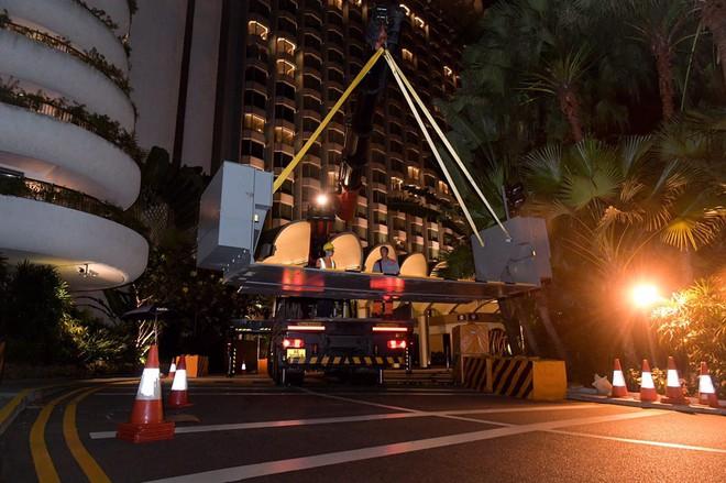 Ông Kim Jong-un chuẩn bị về nước, cảnh sát Singapore phong tỏa tuyến đường tới sân bay trong 1 giờ - Ảnh 2.