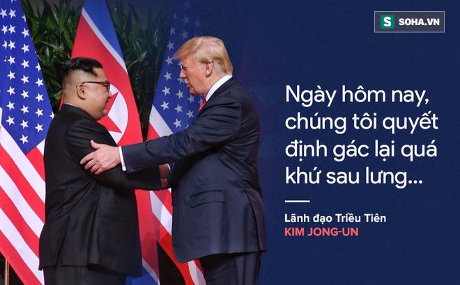 """""""Cơn mưa"""" lời ca ngợi nguyên thủ Mỹ - Triều dành cho nhau"""