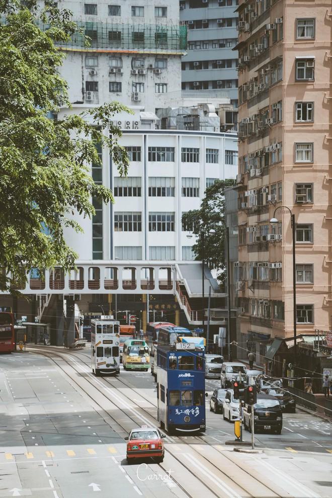 Bộ ảnh: Ngắm nhìn vẻ đẹp hoài cổ của những chiếc xe điện trăm năm tuổi của Hongkong - Ảnh 1.