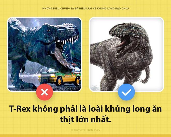 Hey! Là T-Rex bạo chúa của Jurassic World đây và các ông đã nhầm về tôi hết rồi - Ảnh 1.