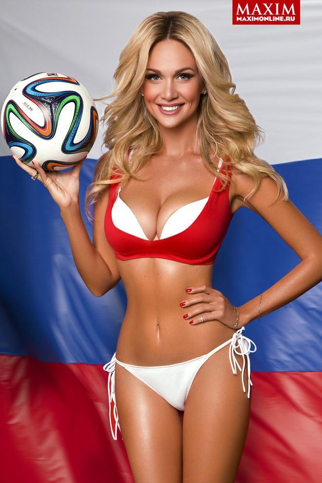 Hoa hậu Nga là đại sứ World Cup 2018: Thân hình bốc lửa, tình trường phong phú - Ảnh 1.