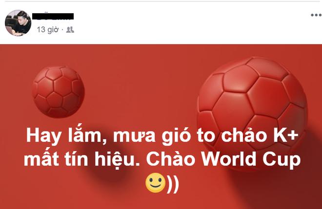 Người hâm mộ ca thán vì loạt dịch vụ xem World Cup 2018 đình công, mất tín hiệu - Ảnh 2.