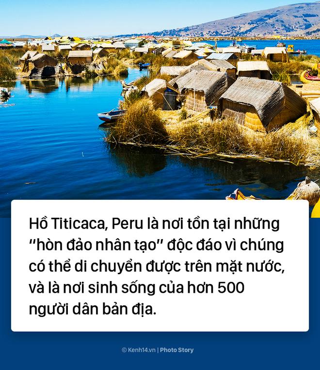 Thú vị với hòn đảo nhân tạo biết di chuyển tại Peru - Ảnh 1.