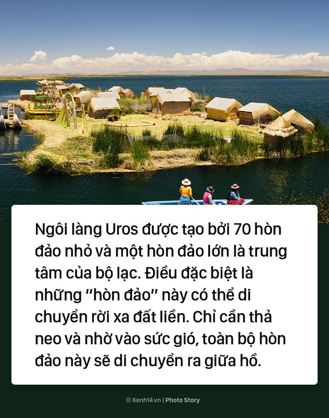 Thú vị với hòn đảo nhân tạo biết di chuyển tại Peru - Ảnh 5.