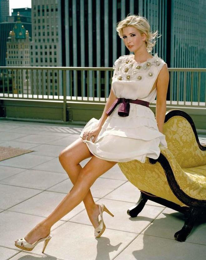 Nhan sắc của người mẫu quyền lực Ivanka Trump - con gái Tổng thống Mỹ   - Ảnh 8.