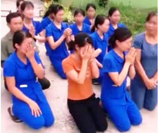 Vụ nhiều cô giáo quỳ, khóc: Dừng giảng dạy, công an vào cuộc - Ảnh 2.