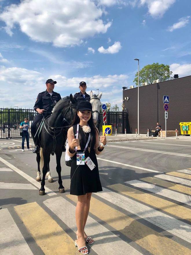 Á khôi Ngọc Nữ chơi lớn khi sang hẳn Nga để xem World Cup 2018 - Ảnh 4.