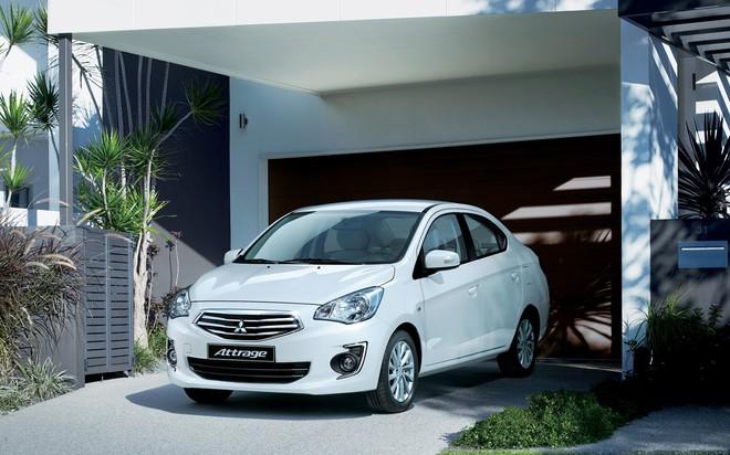 Rẻ hơn đối thủ hãng xe Toyota Vios 30 triệu đồng, hãng Mitsubishi Attrage tiếp tục hạ giá - Ảnh 1.