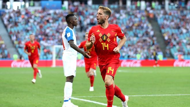 Lukaku lập cú đúp trong 7 phút, Bỉ đè bẹp tân binh World Cup - Ảnh 2.