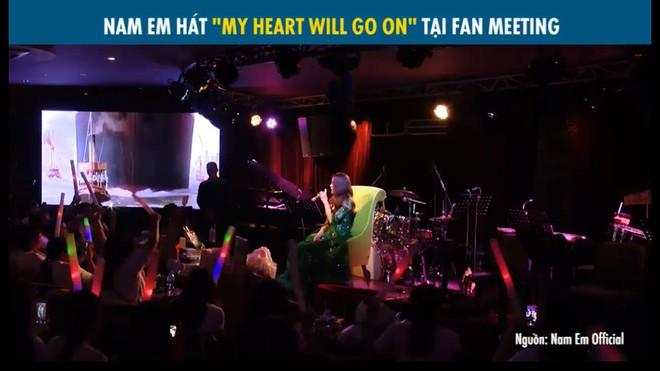 Nam Em thất bại khi hát My heart will go on: Lúc như Celine Dion, lúc như Chi Pu - Ảnh 1.