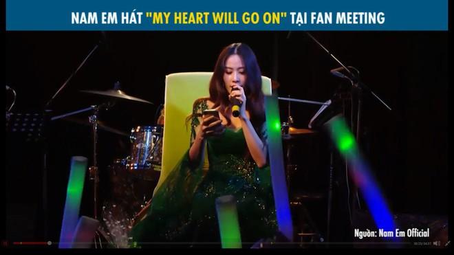 Nam Em thất bại khi hát My heart will go on: Lúc như Celine Dion, lúc như Chi Pu - Ảnh 3.