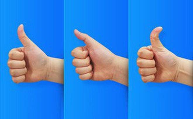 Xem hình dáng ngón tay cái của bạn để khám phá toàn bộ điểm mạnh và điểm yếu của bản thân