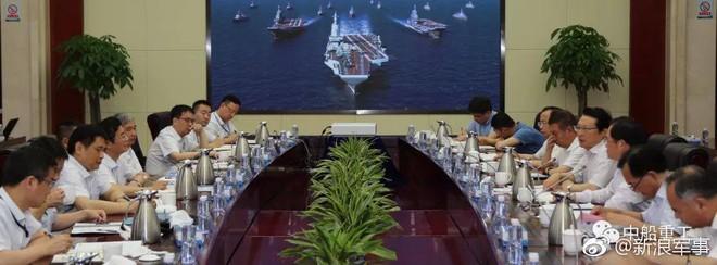 Thiết kế siêu hàng không mẫu hạm sử dụng máy phóng của Trung Quốc đã hoàn thiện? - Ảnh 1.
