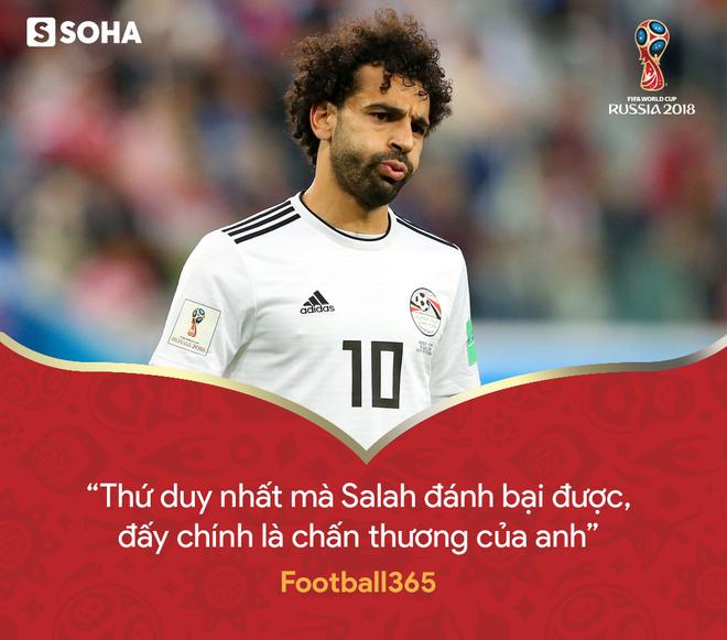 Trừ tình huống ngã kiếm penalty, Mohamed Salah chỉ là chú bù nhìn trên sân - Ảnh 5.