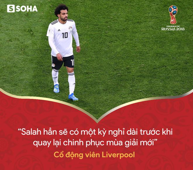 Trừ tình huống ngã kiếm penalty, Mohamed Salah chỉ là chú bù nhìn trên sân - Ảnh 7.