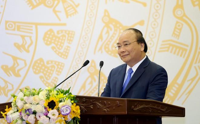Thủ tướng đề nghị báo chí tích cực phản bác thông tin sai trái trên mạng xã hội - Ảnh 1.