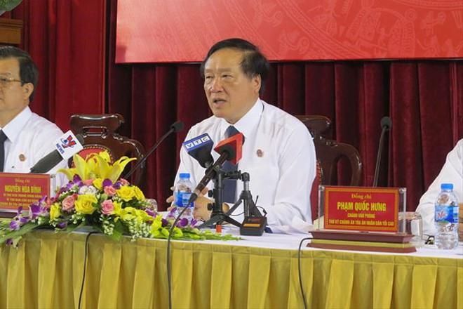 Sẽ xử lý thẩm phán tuyên án treo bị cáo Nguyễn Khắc Thủy - Ảnh 1.