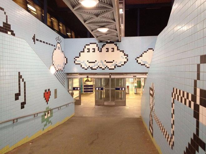 Bên trong những ga tàu điện ngầm đẹp hơn cả triển lãm nghệ thuật tại Thụy Điển - Ảnh 10.