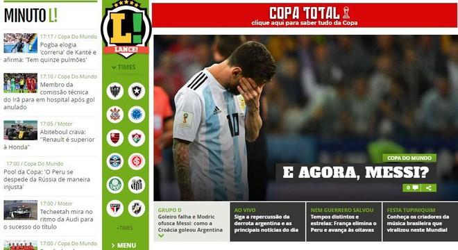 Xấu hổ, thảm họa, đau khổ, báo Argentina câm lặng vì Messi và đồng đội - Ảnh 9.