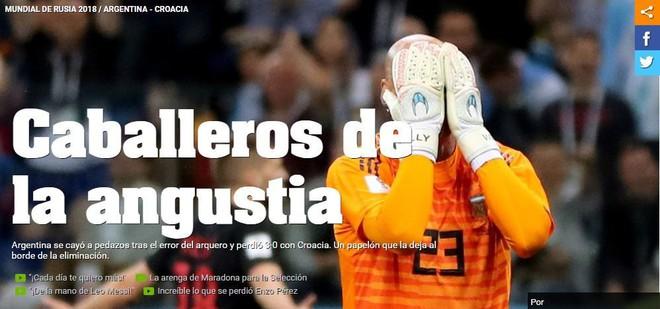 Xấu hổ, thảm họa, đau khổ, báo Argentina câm lặng vì Messi và đồng đội - Ảnh 4.