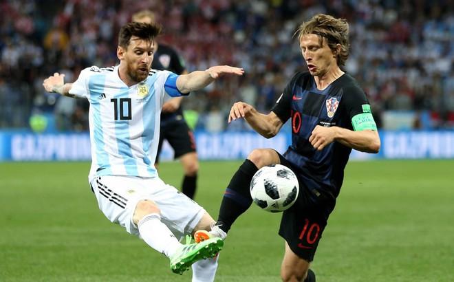 """Con số cho thấy Modric đã """"hành hạ"""" Argentina, xát muối vào nỗi đau của Messi thế nào"""
