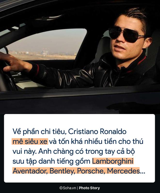 Cristiano Ronaldo kiếm và tiêu tiền như thế nào? - Ảnh 5.
