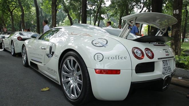Cận cảnh chi tiết ông hoàng tốc độ Bugatti Veyron giá 50 tỷ của ông Đặng Lê Nguyên Vũ trong Hành trình từ trái tim - Ảnh 3.