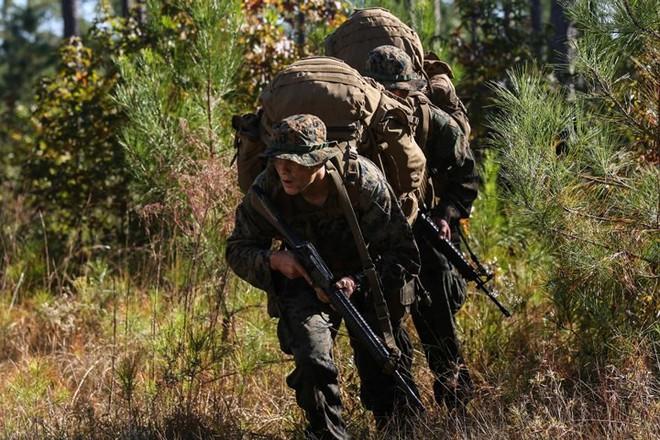 """Kỹ năng ẩn nấp và tác xạ của """"sát thủ vô hình"""" lính bắn tỉa Mỹ - Ảnh 11."""