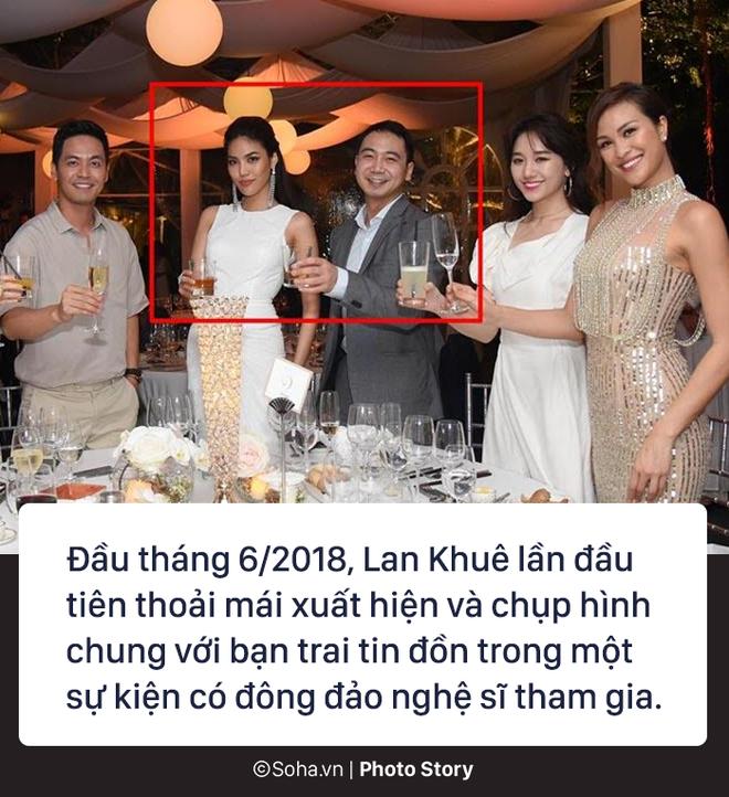 [Photo Story] Chuyện tình giấu kín của Lan Khuê và bạn trai đại gia  - Ảnh 3.