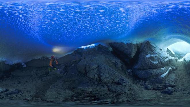 Thám hiểm hang băng ở độ cao gần 4000m: Phát hiện sinh vật lạ, khoa học chưa từng biết - Ảnh 6.