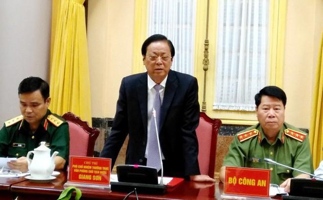 Công bố Lệnh của Chủ tịch nước về Luật An ninh mạng